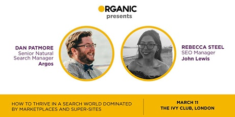How To Thrive In A Search World Dominated By Marketplaces And Super-Sites tickets