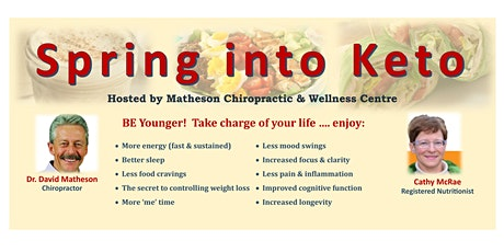 Spring into Keto - BE Younger Next Year tickets