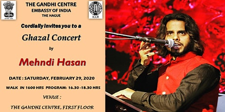 Ghazal Concert by Mehndi Hasan tickets
