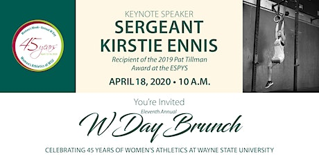 11th Annual W Day Brunch tickets