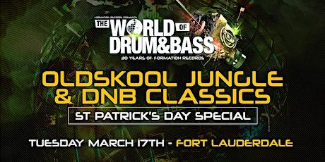 WODB  Oldskool Jungle & Drum & Bass Classic (St paddy Day Special) tickets