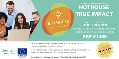Hot House True Impact Weekend tickets