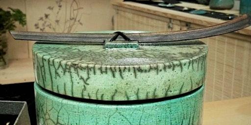 Corso di ceramica RAKU - creazione di scatole con coperchio