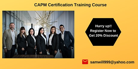CAPM Exam Prep Training in Sacramento, CA tickets
