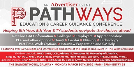 Pathways - Education and Careers Guidance Conference tickets