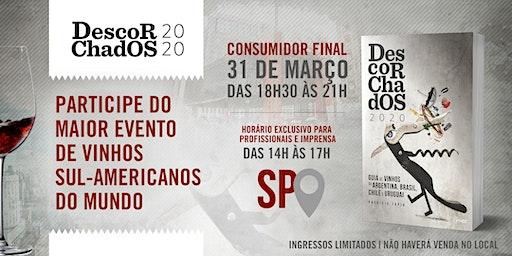 DEGUSTAÇÃO  de lançamento - GUIA DESCORCHADOS 2020  - São Paulo