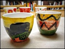 Corso di ceramica - Tazzine