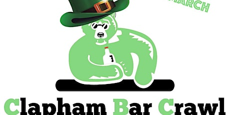 St Patrick's Day - Clapham Bar Crawl tickets