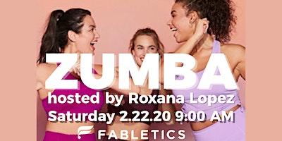 ZUMBA hosted by Roxana Lopez
