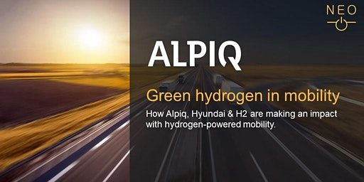 NEO Keynote - Alpiq: Green hydrogen in mobility