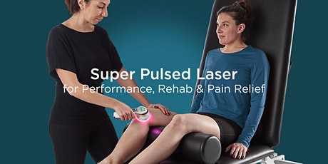 Super Pulsed Laser for Performance, Rehab & Pain Relief - Toronto tickets