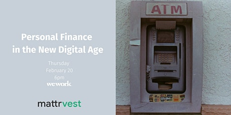 Personal finance in the new digital age tickets