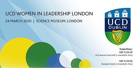 UCD Women In Leadership, London 2020 tickets