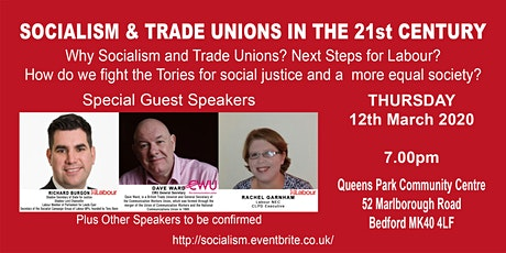 Socialism and Trade Unions in the 21st Century tickets