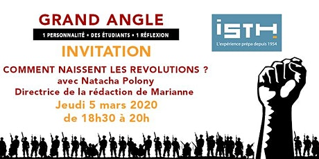 Conférence ISTH Grand Angle avec Natacha Polony billets