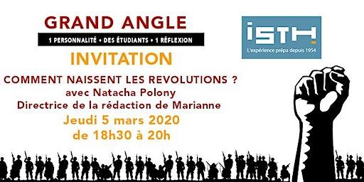 Conférence ISTH Grand Angle avec Natacha Polony