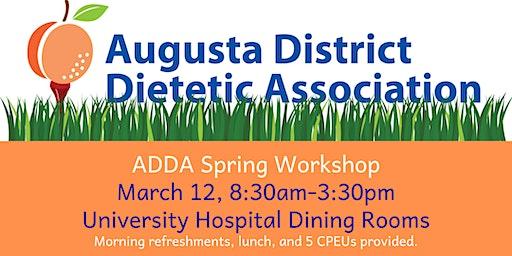 ADDA Spring Workshop
