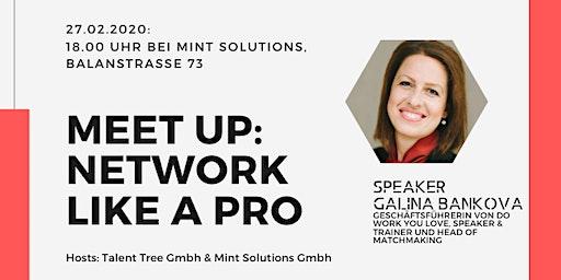 Network like a pro