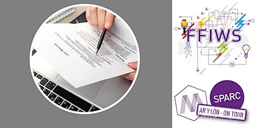 Adeiladu CV neu Llenwi Ffurflen Gais / CV Building and Application Forms