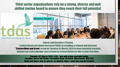 TDAS Trustee Meet and Greet tickets