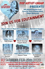 9th Annual Passion Over Poverty Teen&Young Adult Talent Showcase Main Event tickets
