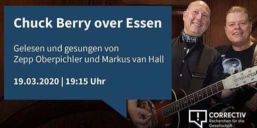 Chuck Berry over Essen