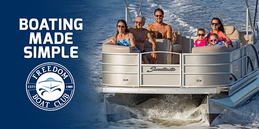 Freedom Boat Club: Ticket Giveaway for the Fred Hall Boat Show