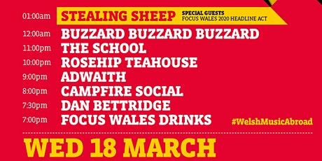 FOCUS Wales DRINKS @ SXSW 2020 tickets