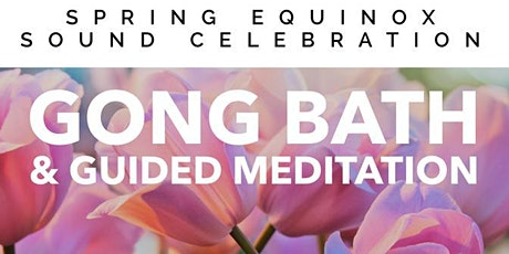 Spring Equinox Gong Sound Celebration @ Zen Yoga, Camberwell tickets