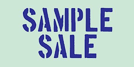 Sample Sale tickets