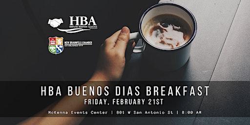 HBA Buenos Dias Breakfast February 2020