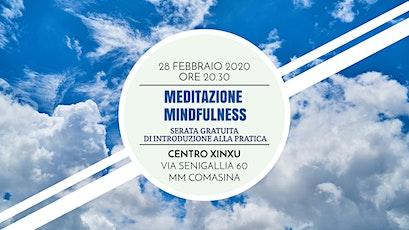 Meditazione Mindfulness Psicosomatica - Serata di introduzione gratuita biglietti