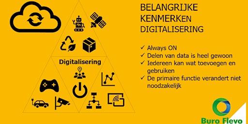 3e ICT XperienceDay Dronten - Digitaliseren van je Dienstverlening