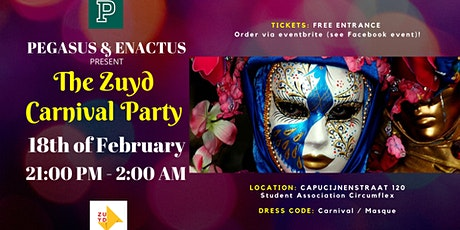 The Zuyd Carnival Party tickets