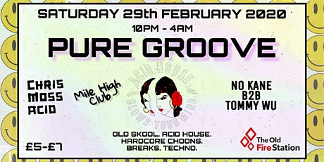 PURE Groove tickets