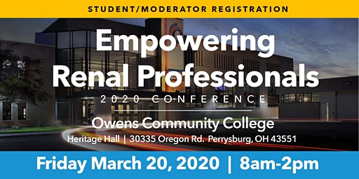 Empowering Renal Professionals Student/Moderator Registration