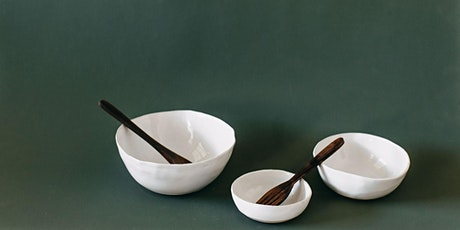 Not Yet Perfect- Hand building Bowl Set Workshop tickets