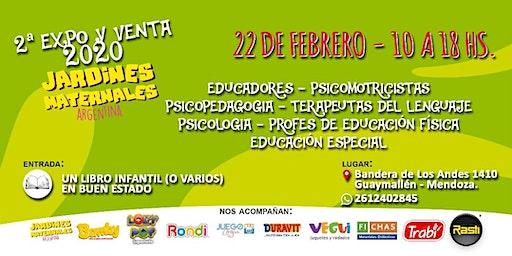 EXPO/VENTA 2020, COLEGIOS, JARDINES, EDUCADORES EN GENERAL