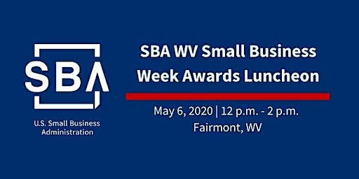 2020 WV Small Business Week Awards Luncheon