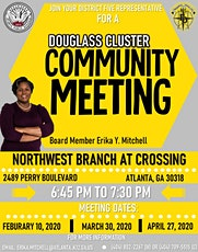 District 5 Douglas Cluster Community Meeting tickets