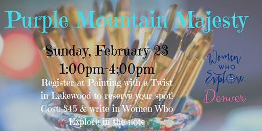 Women Who Explore Denver: Painting With A Twist