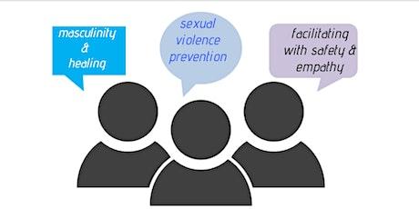 Foundational training on Facilitating Men's Groups & Community Dialogs tickets
