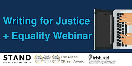 Writing for Justice + Equality Webinar tickets