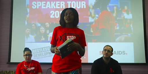 Youth Stop AIDS Speaker Tour London 2020