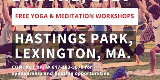 Yoga Day | Lexington - Hastings Park | FREE event | June 20, 2020 | 8 am - 10 am