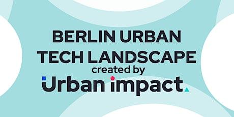 Urban Tech Startup & City Lunch tickets