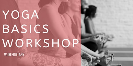 Yoga Basics Workshop  tickets