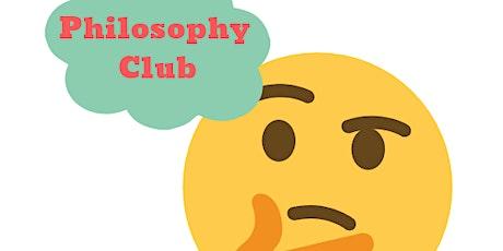 Philosophy Club tickets