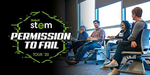 iRobot Permission to Fail Tour WPI Powered by STEM