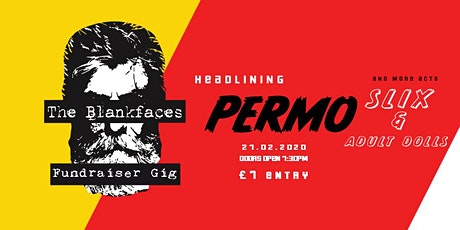 The Blankfaces Fundraiser Gig tickets